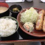 ジャンボ串カツ定食