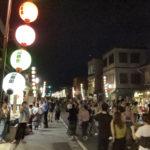 川越百万灯夏祭り 一番街