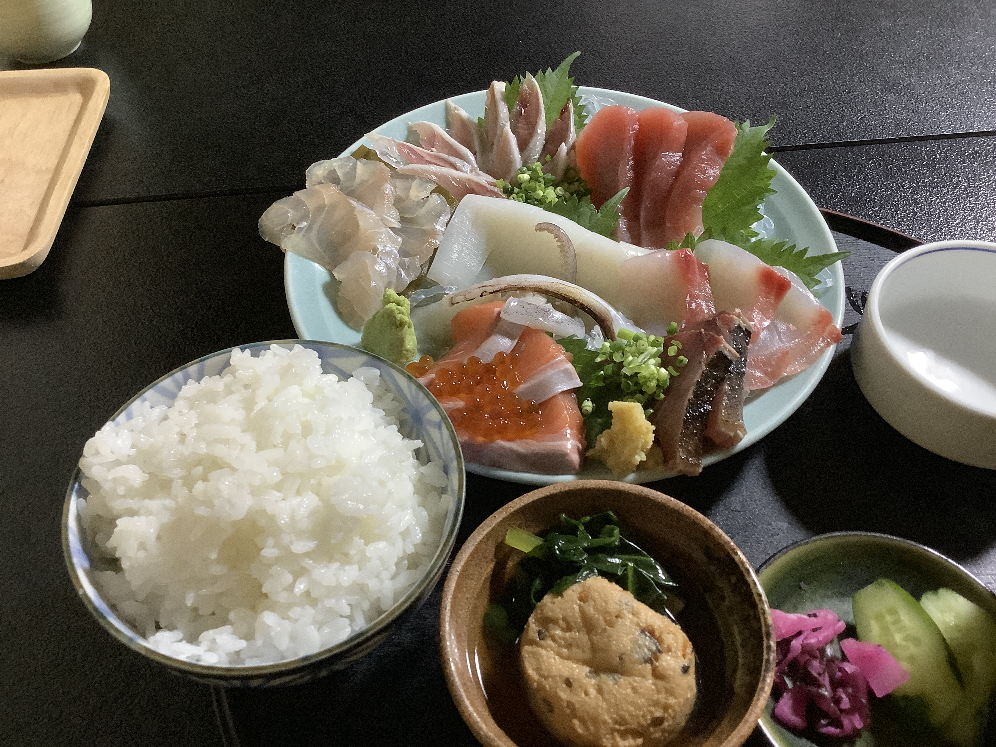 Sashimi set