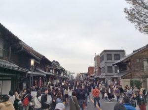 蔵造の街並み 江戸の日