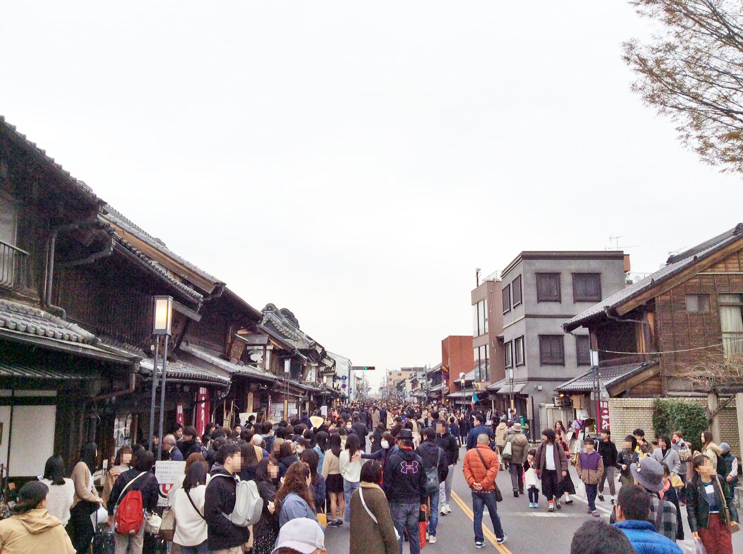 Normally Ichiban-gai in the daytime
