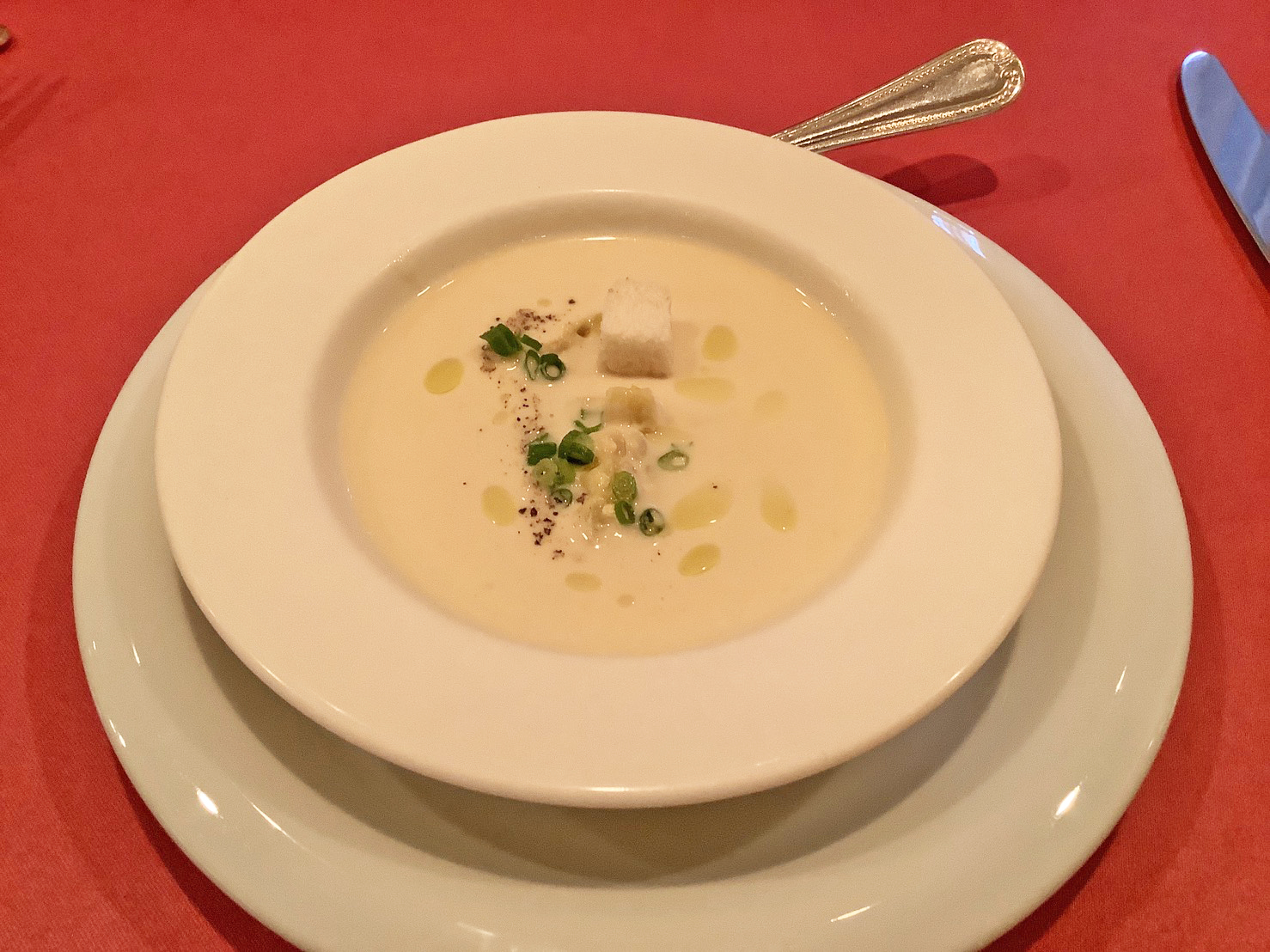 cold corn soup
