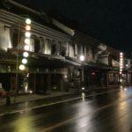 雨上がりの蔵造の町並み
